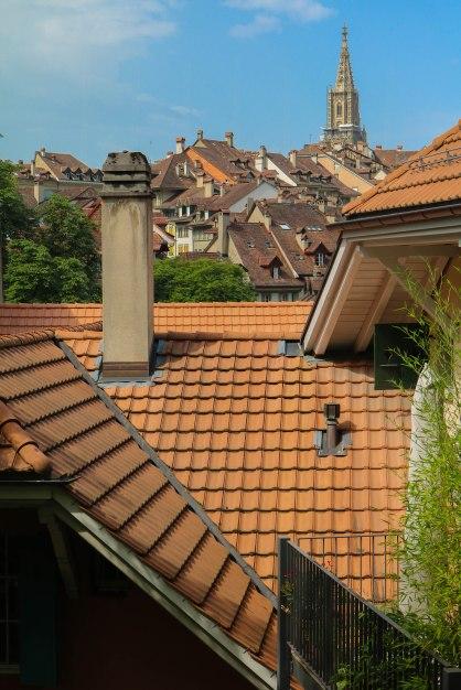 Rooftops of Bern.
