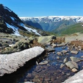 Amazing mountains of Norway.