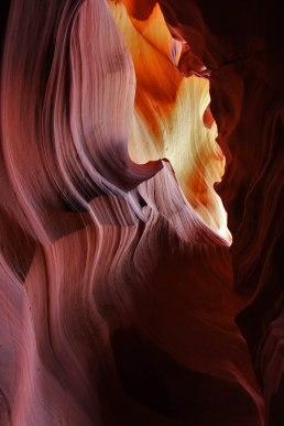 Antelope canyon.