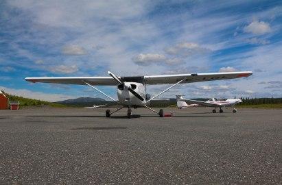 Our plane, Norwegian planes.
