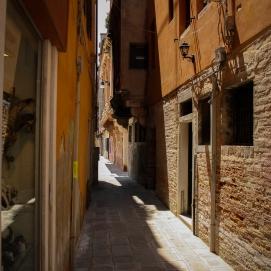 Yellow/orange alley.