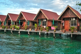 Our bungalows.