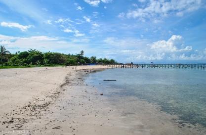 Beach on Mabul.