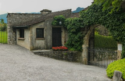The gatekeeper´s house at the castle.