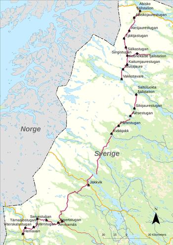 350px-Kungsleden_map